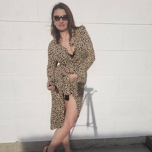 Adrienne Vittadini flowery summer, long dress